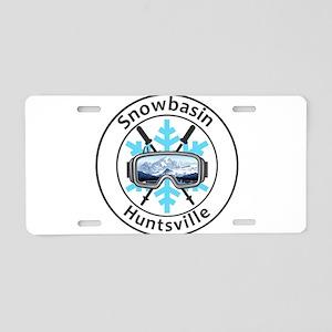 Snowbasin - Huntsville - Aluminum License Plate