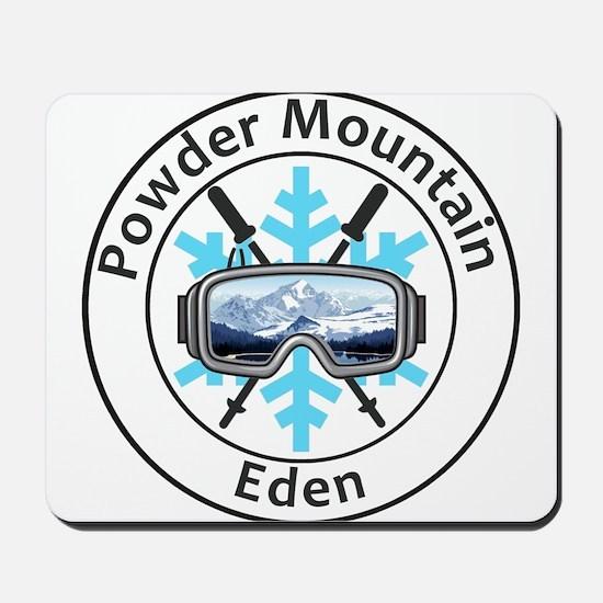 Powder Mountain - Eden - Utah Mousepad