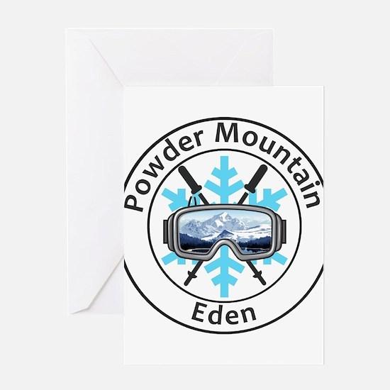 Powder Mountain - Eden - Utah Greeting Cards