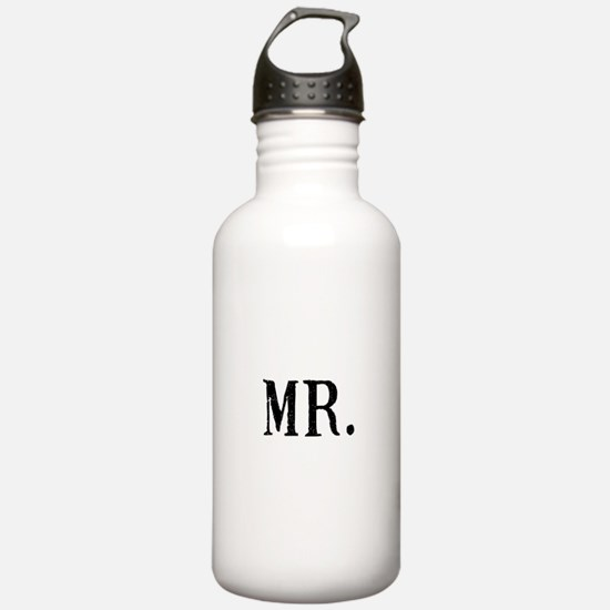 Cute Humorous groom Water Bottle