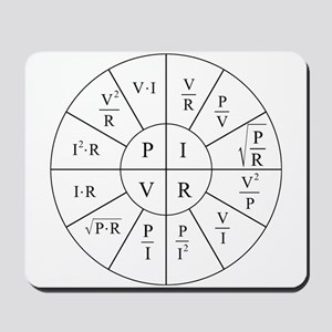 Ohm Wheel Mousepad