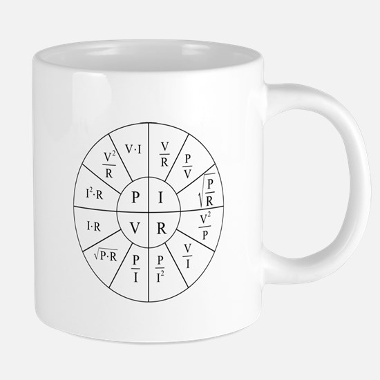 Ohm Wheel 20 oz Ceramic Mega Mug