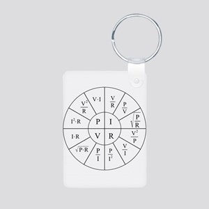 Ohm Wheel Keychains