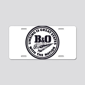 Baltimore and Ohio 13 state Aluminum License Plate