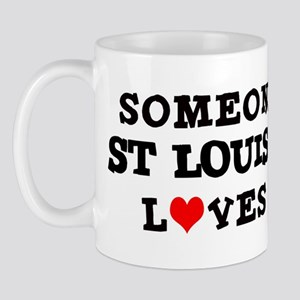 Someone in St. Louis Mug