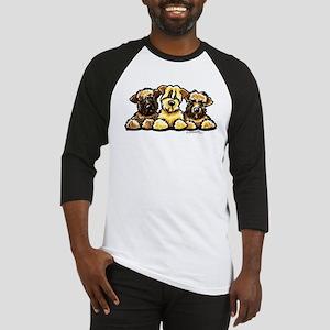 Wheaten Terrier Cartoon Baseball Jersey