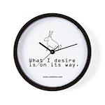 Bun 12 Desire Wall Clock