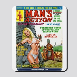 MAN'S ACTION, June 1969 Mousepad