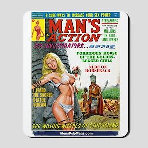 MAN'S ACTION, June 1969 Mousepad