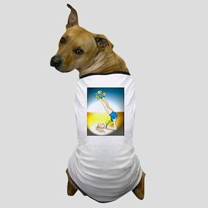Roller Derby Girl Pin-up Dog T-Shirt