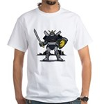 Black Knight White T-Shirt
