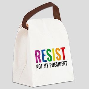 Glbt Resist Canvas Lunch Bag