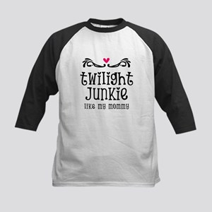 Twilight Junkie Kids Baseball Jersey