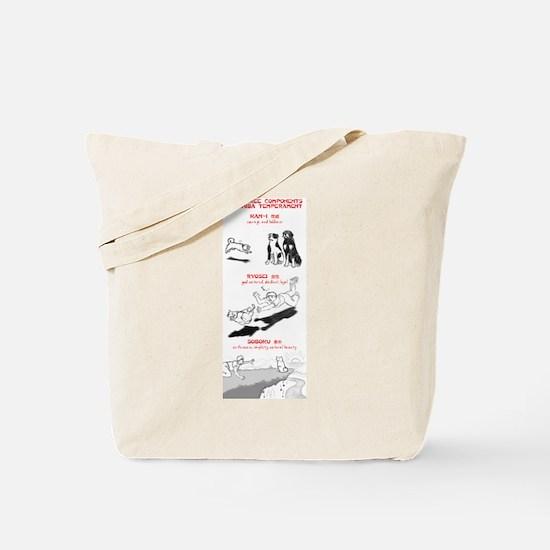 The 3 Components of Shiba Temperament Tote Bag