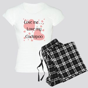 Love me...Love my Cockapoo Women's Light Pajamas