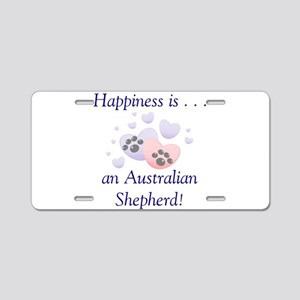 Happiness is...an Australian Aluminum License Plat