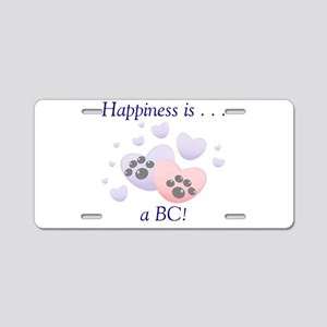 Happiness is...a BC Aluminum License Plate