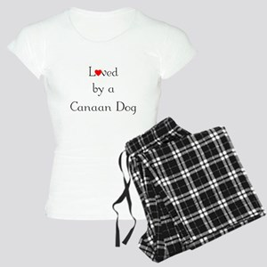 Loved by a Canaan Dog Women's Light Pajamas
