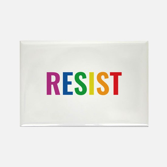 Glbt Resist Rectangle Magnet