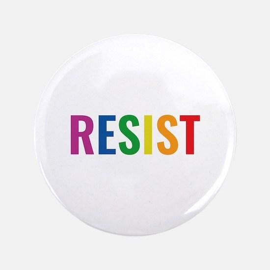 "Glbt Resist 3.5"" Button"