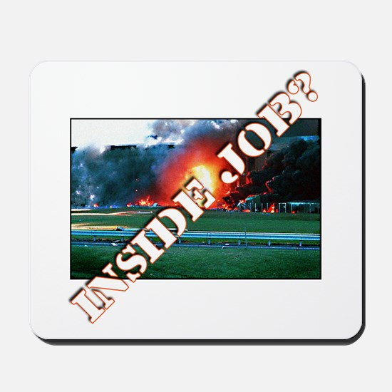 9/11 Inside Job? Mousepad