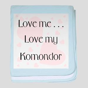 Love Me...Love My Komondor baby blanket