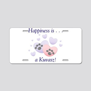 Happiness is...a Kuvasz Aluminum License Plate