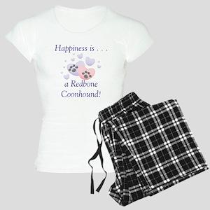 Happiness is...a Redbone Coon Women's Light Pajama