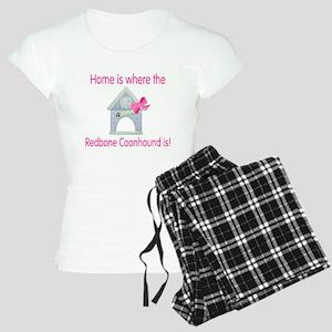 Home is where the Redbone Coo Women's Light Pajama