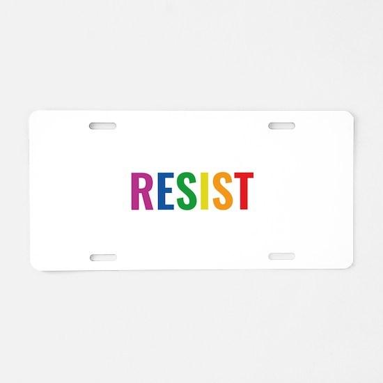 Glbt Resist Aluminum License Plate