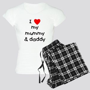 I love my mummy & daddy Women's Light Pajamas