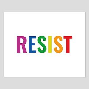 Glbt Resist Small Poster