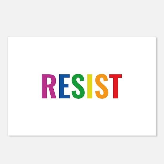 Glbt Resist Postcards (Package of 8)