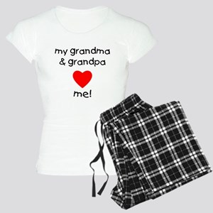 My grandma & grandpa love m Women's Light Pajamas