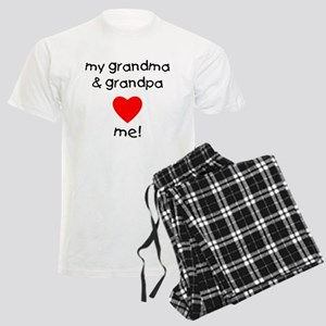 My grandma & grandpa love me Men's Light Pajamas