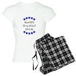 World's Greatest Uncle Women's Light Pajamas