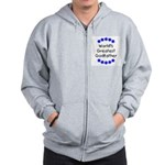 World's Greatest Godfather Zip Hoodie