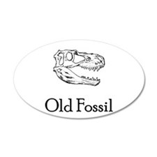 Old Fossil 22x14 Oval Wall Peel