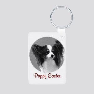Pappy Easter Aluminum Photo Keychain