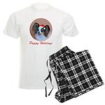 Pappy Holidays (sable santa h Men's Light Pajamas