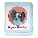Pappy Holidays (sable santa h baby blanket