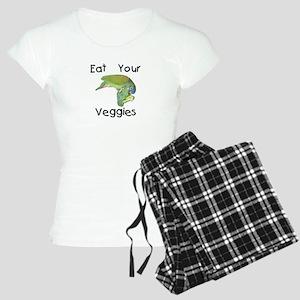 Eat Your Veggies BBQ Women's Light Pajamas