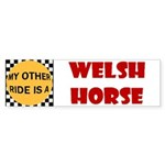 My Other Ride Is A Welsh Horse Bumper Sticker