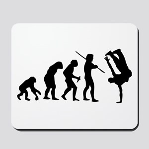 Breakdance evolution Mousepad