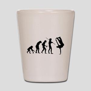 Breakdance evolution Shot Glass