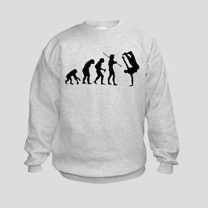 Breakdance evolution Kids Sweatshirt