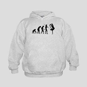 Breakdance evolution Kids Hoodie
