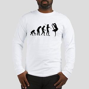 Breakdance evolution Long Sleeve T-Shirt