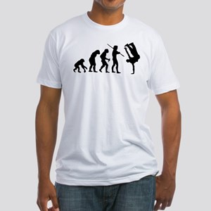 Breakdance evolution Fitted T-Shirt