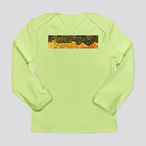 Brook Trout Skin Long Sleeve Infant T-Shirt